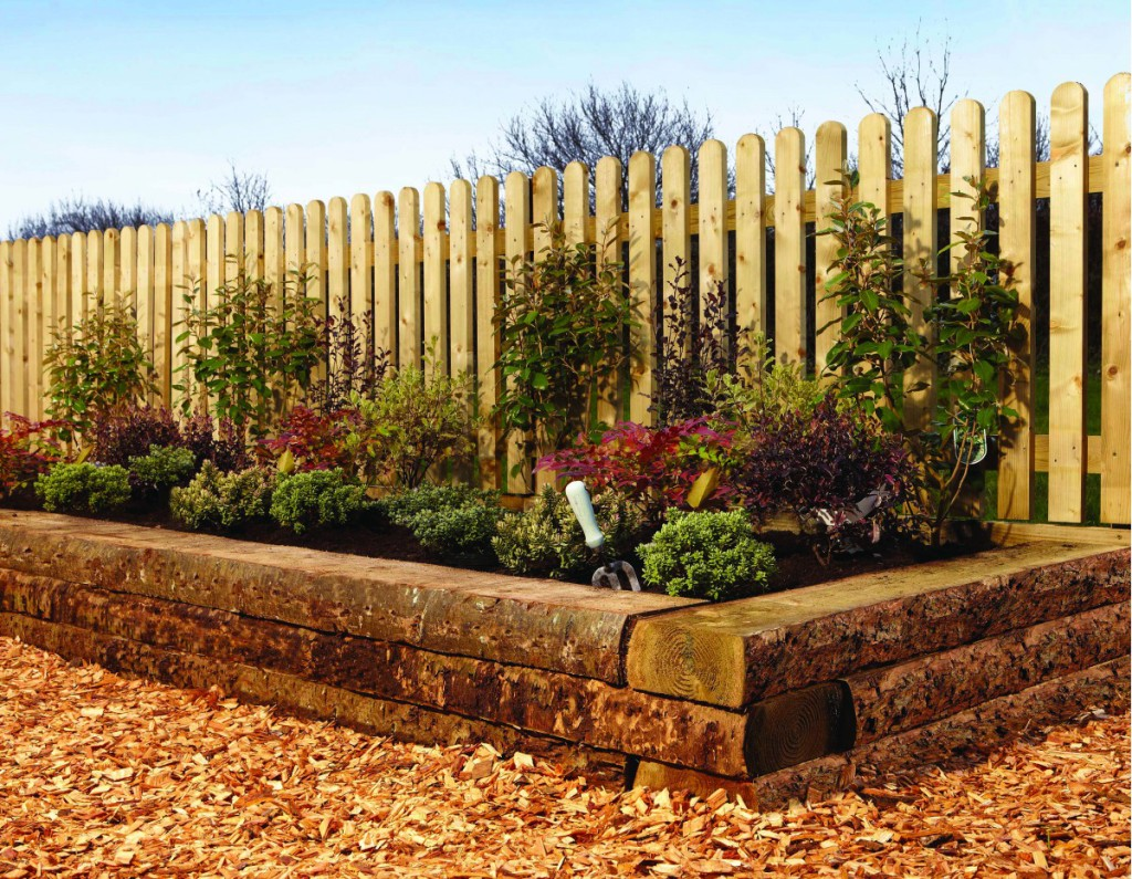 Get creative with railway sleepers