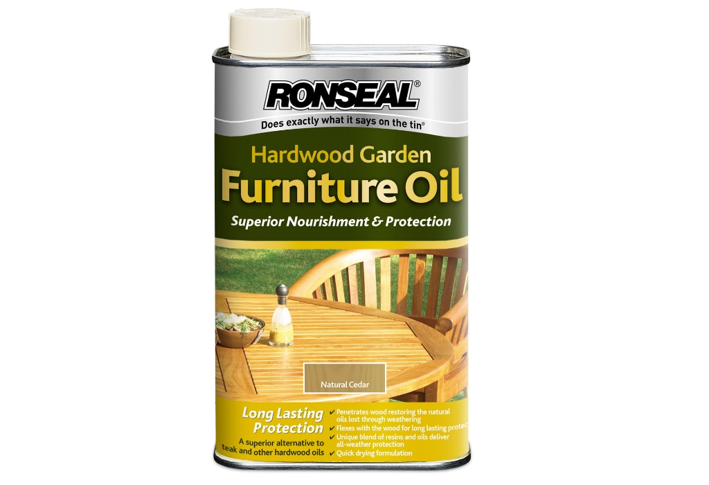 Ronseal Garden Furniture Stain Ronseal hardwood garden furniture oil 500ml workwithnaturefo